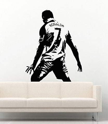 Cristiano Ronaldo Football Club Real Madrid Sport Wall Decals