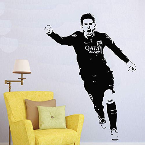 Lionel Messi Barcelona Football Player Wall Decal