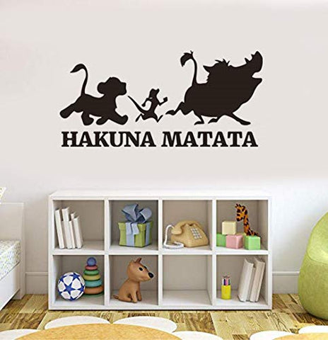 Lion King Decals Lion King Wall Decals Hakuna Matata Wall Decals Hakuna Matata Wall Stickers Hakuna Matata Wall Decor Lion King Wall Decor Lion King Wall Stickers