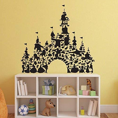 Disney Castle Wall Decal ae17