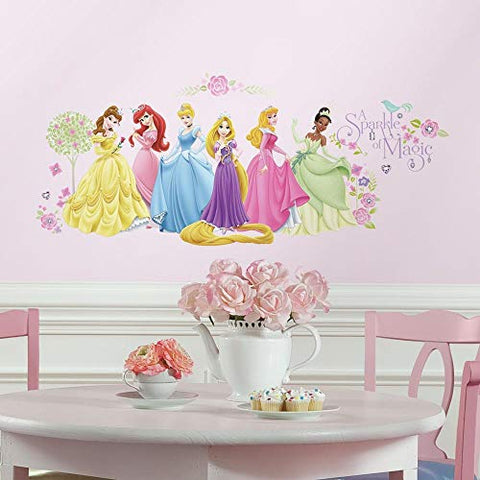 Disney Princess Glow Princess Peel and Stick Wall Decals