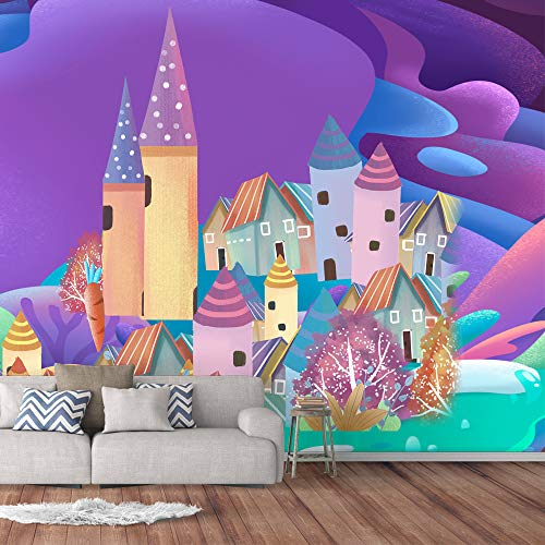Details about  /3D Garden Castle I506 Wallpaper Mural Sefl-adhesive Removable Sticker Wendy