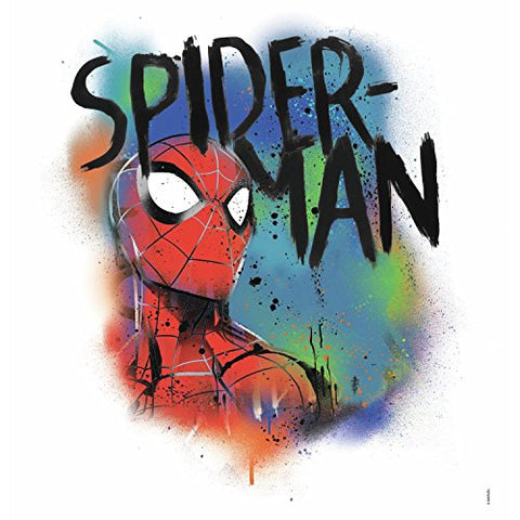 RoomMates Spider-Man Classic Graffiti Burst Peel And Stick Giant Wall Decals