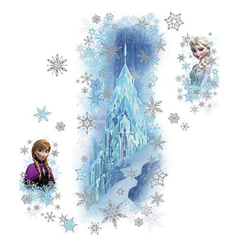 Disney Frozen Ice Palace With Else And Anna Peel And Stick Giant Wall Decals