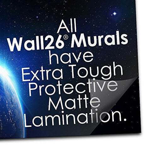 "wall26 - Self-Adhesive Wallpaper Large Wall Mural Series (66""x96"", Artwork - 26)"