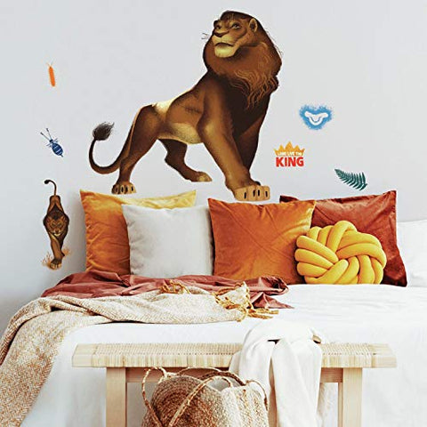 RoomMates The Lion King Simba Peel and Stick Giant Wall Decals