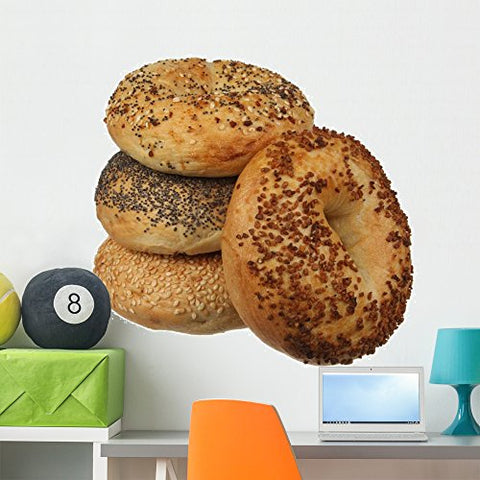 Wallmonkeys Mixed Bagel Wall Decal Peel and Stick Graphic WM38995 (36 in W x 24 in H)