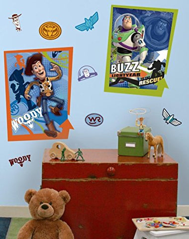 Toy Story 3 Glow In The Dark Peel and Stick Wall Decals