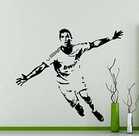 Cristiano Ronaldo Wall Vinyl Decal