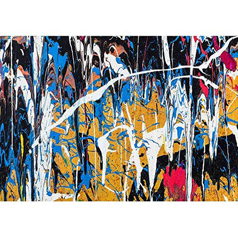 wall26 - Dripping Paint Graffiti Wall Close - Removable Wall Mural | Self-Adhesive Large Wallpaper - 66x96 inches
