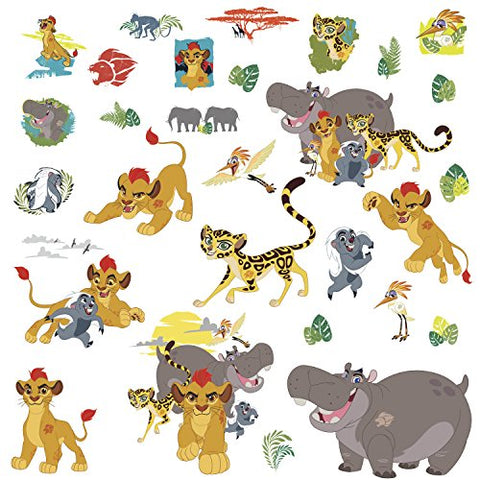 RoomMates Lion Guard Peel And Stick Wall Decals,Multicolor
