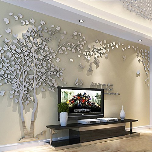 Living Room Wall Decals Bedroom Wall Sticker Tv Background Wall Decal Ellaseal