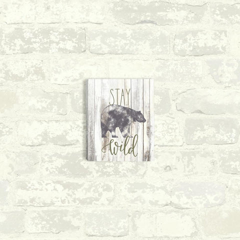 STAY WILD CANVAS WALL ART