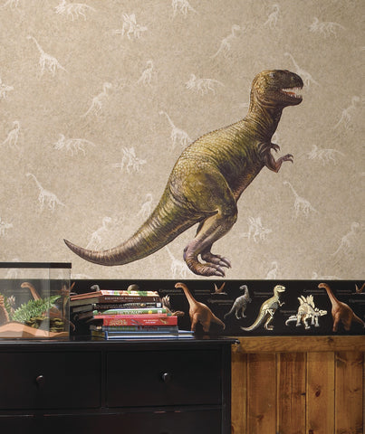 Dinosaur T-Rex Peel & Stick Giant Wall Decal image