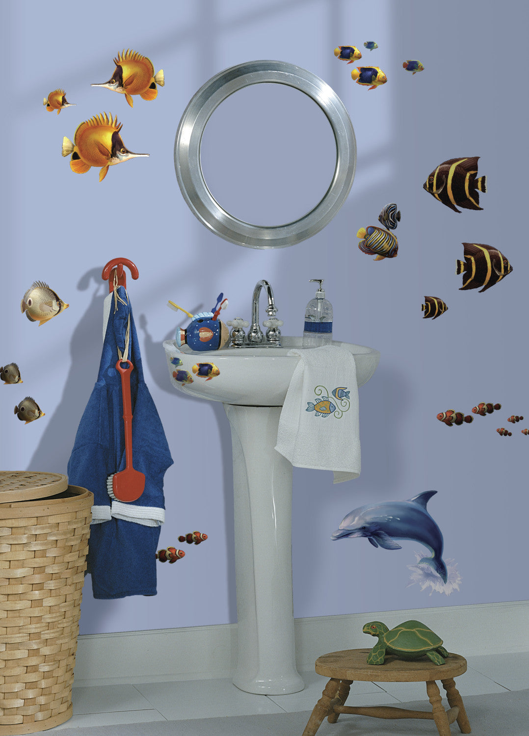 Under The Sea Peel Stick Wall Decals Walldecalscom