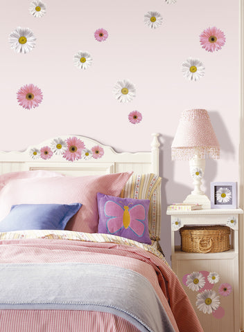 Flower Power Peel & Stick Wall Decals image