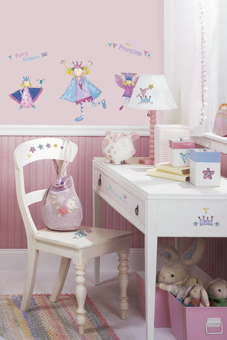 Fairy Princess Peel & Stick Wall Decals image
