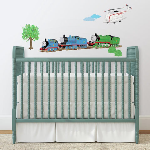 THOMAS & FRIENDS PEEL & STICK WALL DECALS