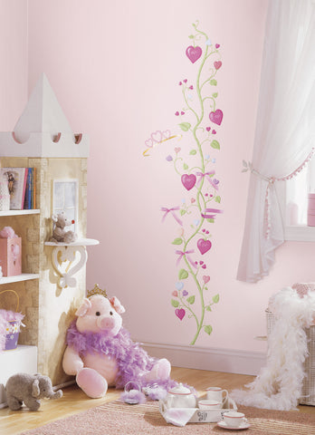 Fairy Princess Peel & Stick Growth Chart image