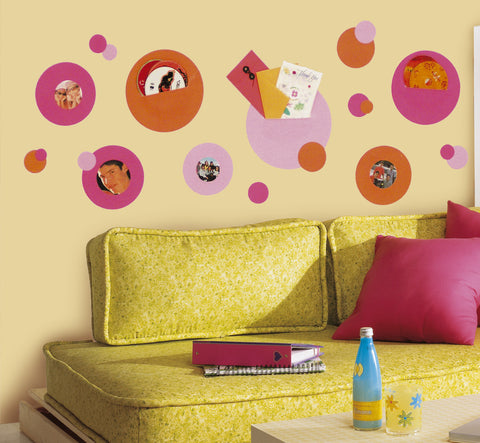 Wallpockets Pink Peel & Stick Wall Decals                                 image