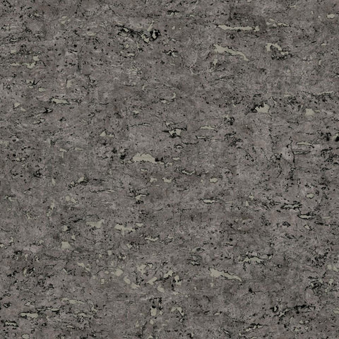 FAUX CORK BLACK PEEL & STICK WALLPAPER