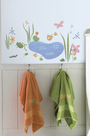 Hoppy Pond  Peel & Stick Wall Decals                      image