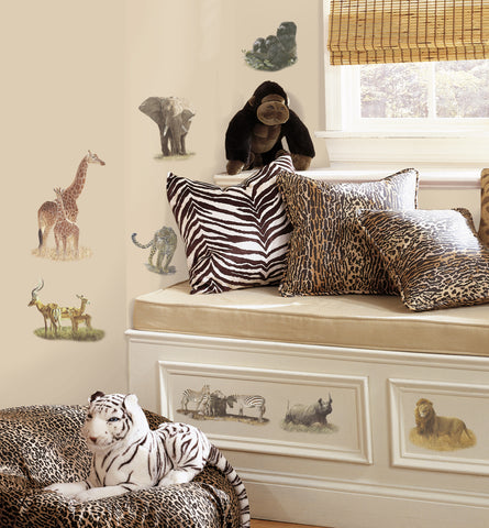 Safari  Peel & Stick Wall Decals                                                        image