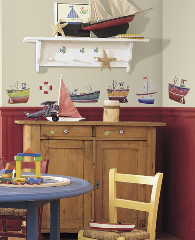 Ship Shape  Peel & Stick Wall Decals     image
