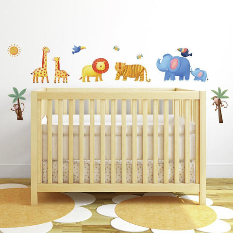 JUNGLE ADVENTURE PEEL & STICK WALL DECALS