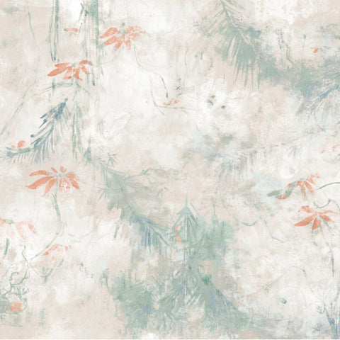 JUNGLE LILY MURAL PEEL & STICK WALLPAPER