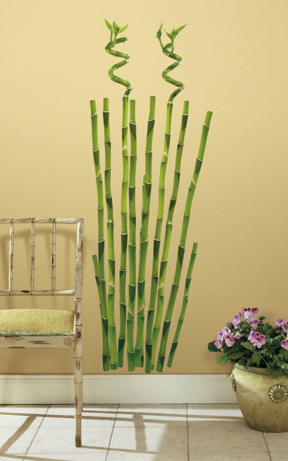 Bamboo Peel & Stick Wall Decals   WallDecals.com