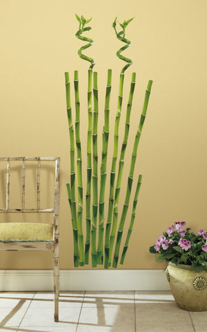 Bamboo Peel & Stick Wall Decals image