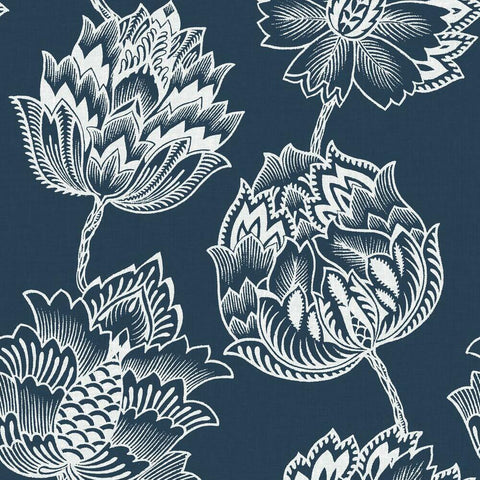 BATIK JACOBEAN PEEL & STICK WALLPAPER