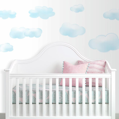 CLOUDS PEEL & STICK WALL DECALS