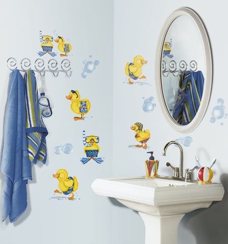 Bubble Bath Peel & Stick Wall Decals image