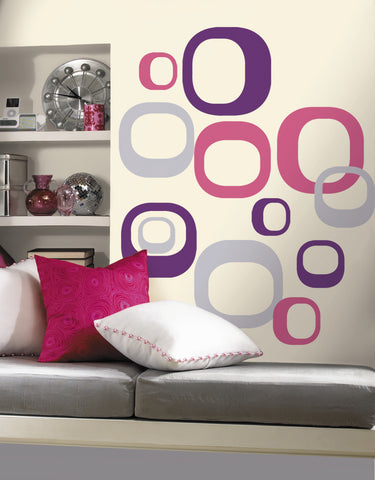 Modern Ovals Peel & Stick Wall Decals image