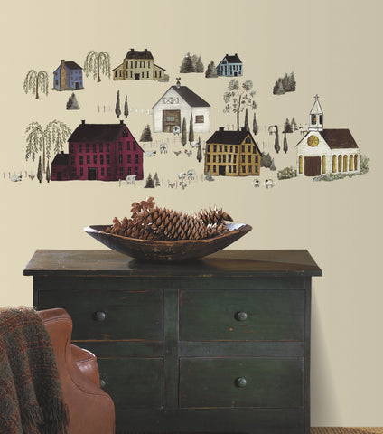 Country Scenic Peel & Stick Wall Decals image