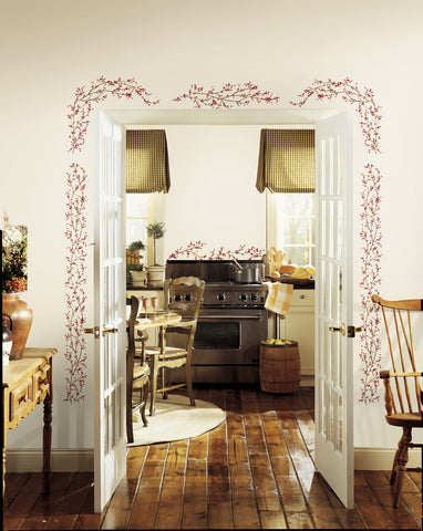 Berry Vine Peel & Stick Wall Decals image