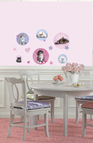 Kitty Dots Peel & Stick Wall Decals image