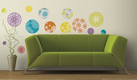 Patterned Dots Peel & Stick Wall Decals image