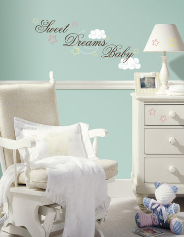 Sweet Dreams Baby Peel & Stick Wall Decals image