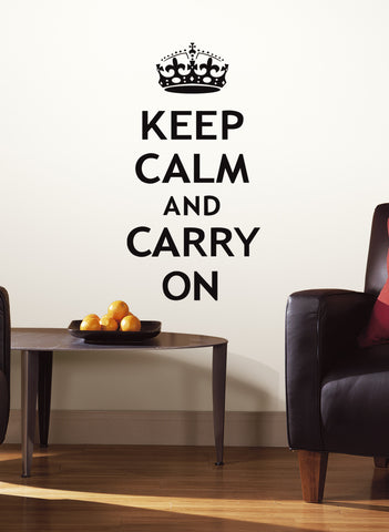 Keep Calm Peel & Stick Wall Decals image