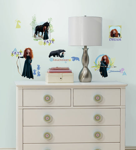 Brave Peel & Stick Wall Decals