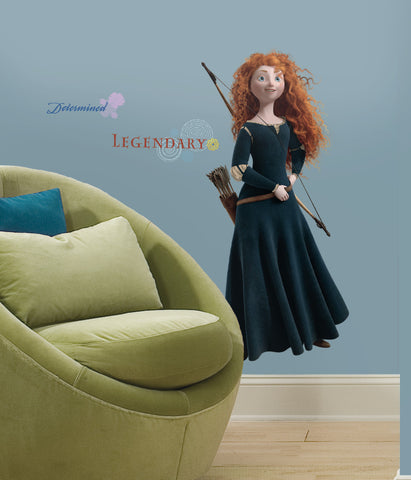 Brave - Merida Peel & Stick Giant Wall Decal