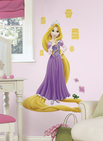Tangled - Rapunzel Glow in the Dark Giant Peel & Stick Wall Decal