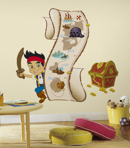 Jake & the Never Land Pirates Peel & Stick Growth Chart