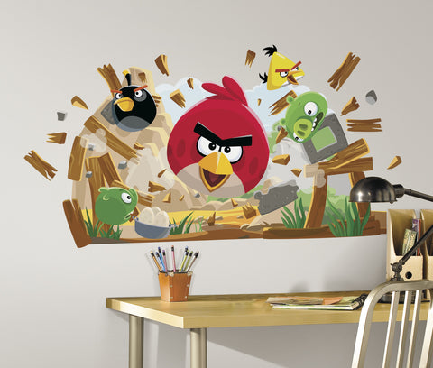 Angry Birds Peel & Stick Giant Wall Decals