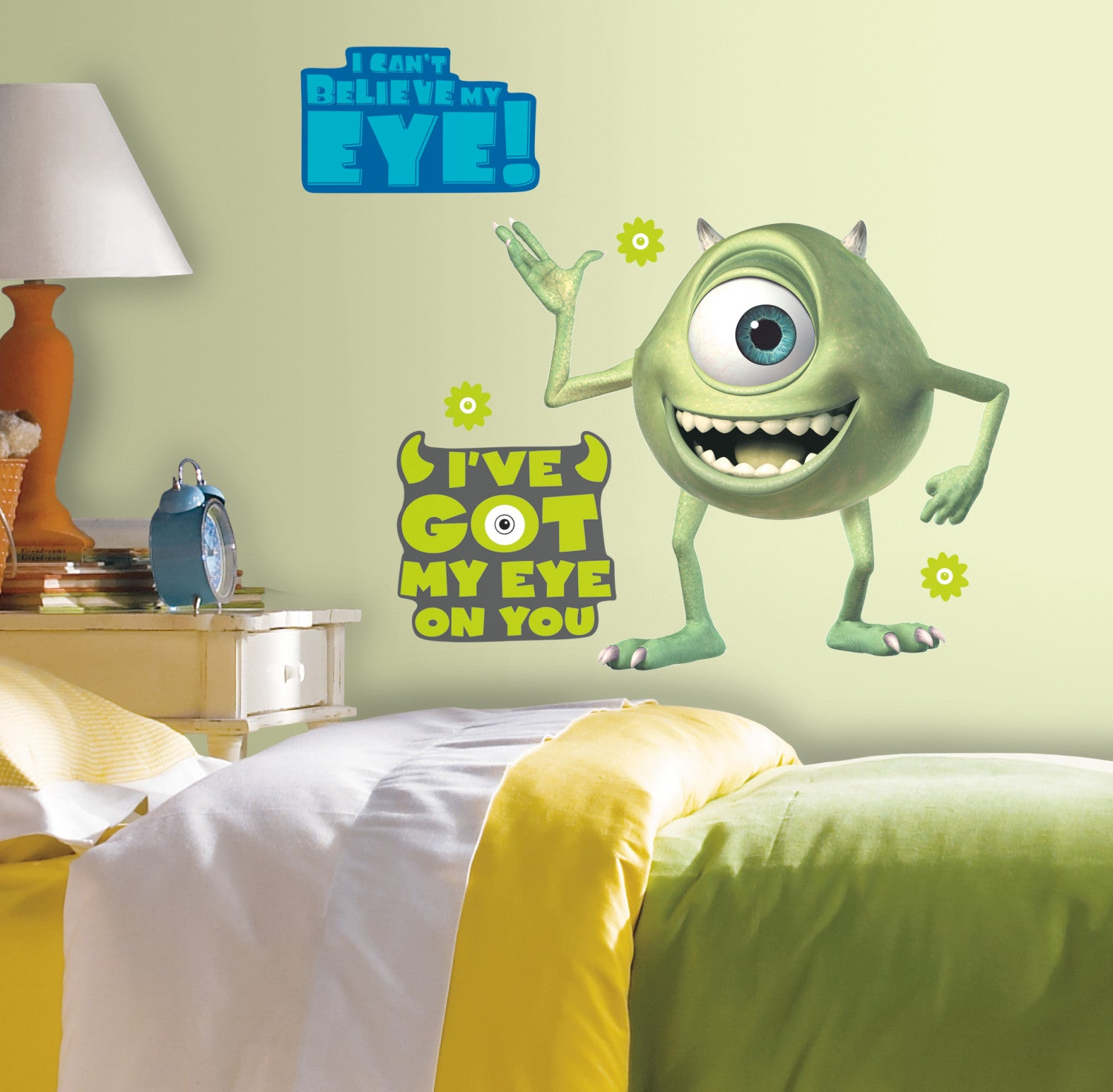 Monsters inc giant mike wazowski peel stick wall decals monsters inc giant mike wazowski peel stick wall decals amipublicfo Choice Image