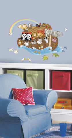 Noah's Ark Peel & Stick Giant Wall Decals image