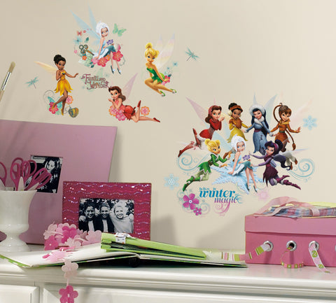 Disney Fairies - Secret of the Wings Peel & Stick Wall Decals